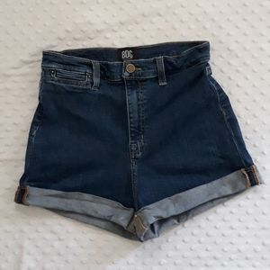 BDG Pin Up High Rise denim jean shorts Size 29